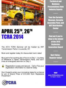 2014 TCRA Seminar
