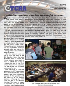 2014 May Newsletter