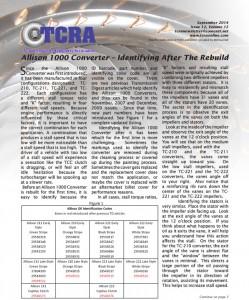 2014 September Newsletter