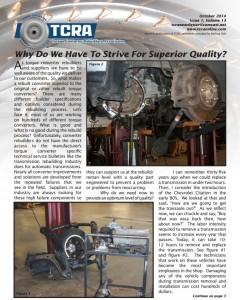 2014 October Newsletter