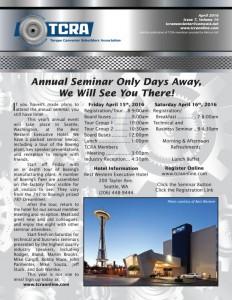 2016 Aprils Newsletter
