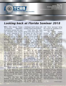 2018 May Newsletter