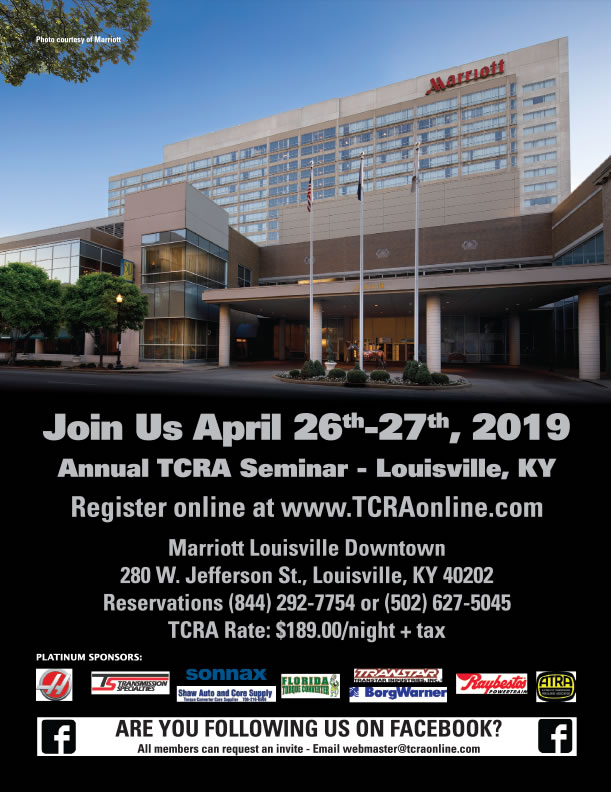 2019 TCRA Seminar